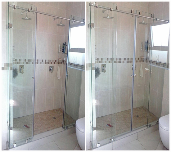 Frameless Sliding Door